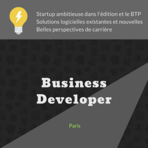 Business Developper à Paris
